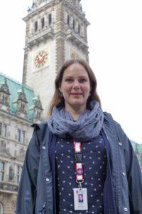 Guide vor Rathaus